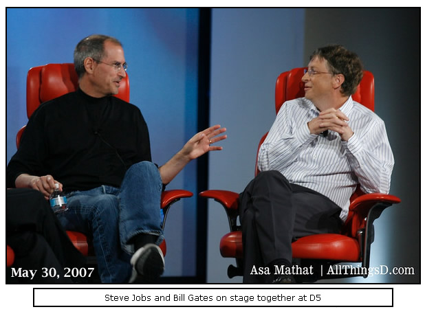 essay on steve jobs and bill gates