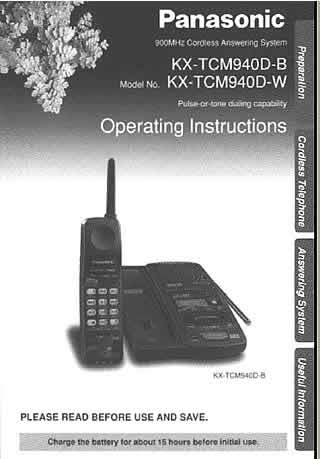 panasonic phones panasonic phones manuals panasonic kx t7731 panasonic kx-t7731 telephone user manual Panasonic KX- T7730